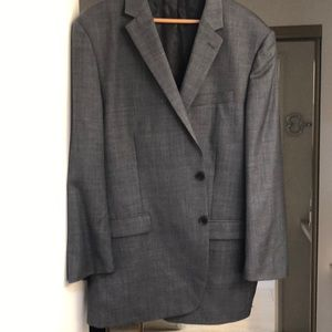 Men's dark grey sport coat